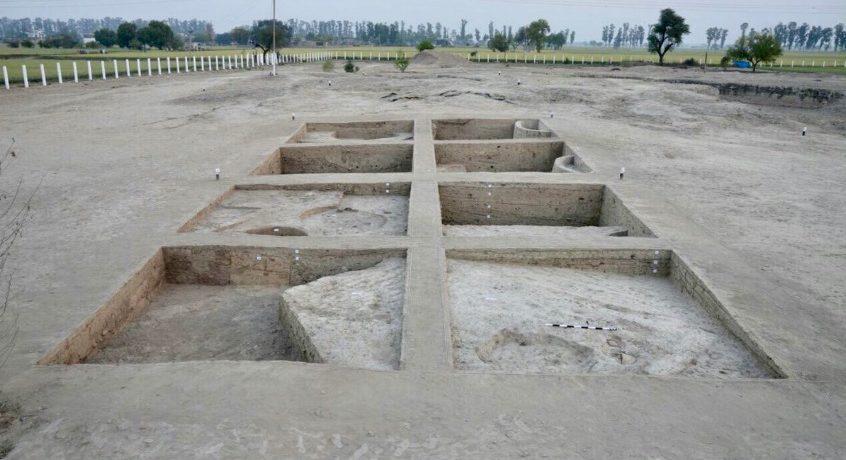 Découverte archéologique à Rakhigarhi