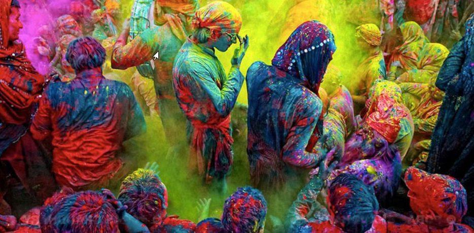 Holi, la fête des couleurs